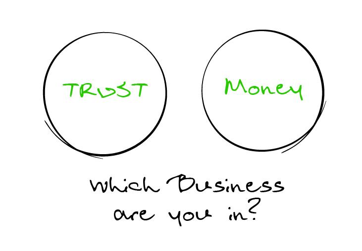 Trust-Money Sketch